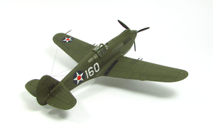 1/72 Curtiss P-40 B Warhawk IV by Zero-Cannard