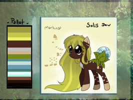 Solis Dew Reference Sheet by Ambercatlucky2