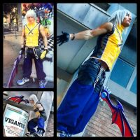 Riku - Kingdom Hearts Cosplay Preview Collage by LeonChiroCosplayArt