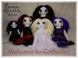 Welcome To Gothville by Strange-Little-Girls