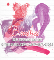 25 BRUSHES by Cysiunio