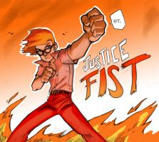 Justice Fist by Padder