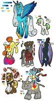 MLP:FIM Adoptables Little-bash by Kayla-san