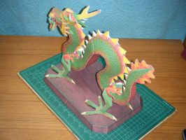 Chinese Luck Dragon Statue 4 by devastator006
