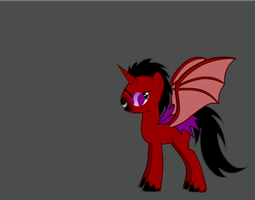 GAB Bloodwing - Pony Version by GAB-Bloodwing