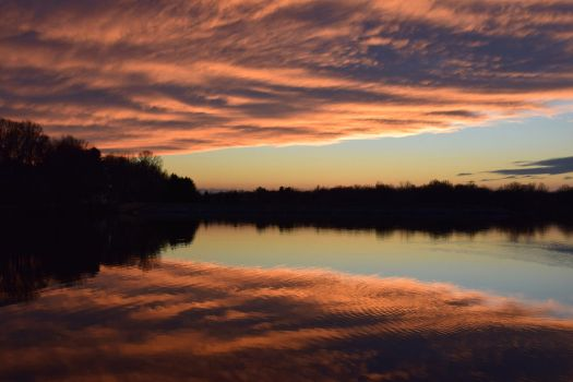 Lake Elkhorn Sunset by pronto185