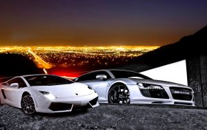 Audi And Lamborghini by allenandtady