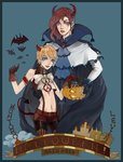 Halloween 2014 - Montoro and Levin by GRIDyo