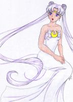 Queen Serenity - Colored by CKNelson