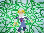 Sheik (Loz) In Vines by RadianceDashZelda