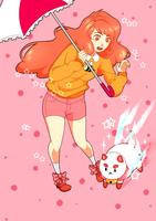Bee and Puppycat by FTriiNgoBlaQ