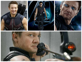 Hawkeye Collage by clintbarton234