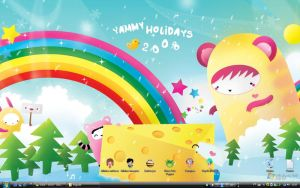 New desktop by darviana