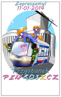 Pinkoszcz Stop - official poster by Ruhisu