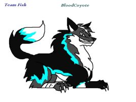 TeamFish BloodCoyote by 9tailsfoxyfoxy