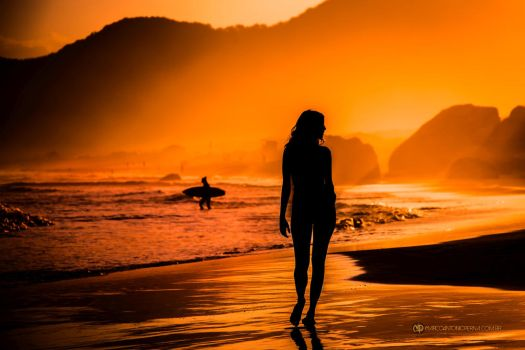 Golden Sunset - IMG 0751cweb by maperna