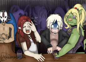Demon Eye - Bar Scene by Kinla