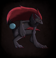 Madison the Zoroark by BlackCalico