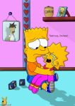 Baby Bart and Lisa by DandX