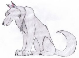 Silver wolf: Gin by Tetsumon