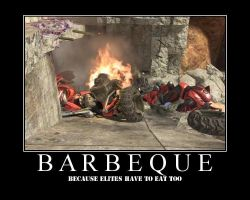 Barbeque by InhumanFrog