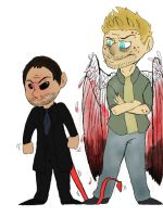 The Devil and The king of hell by Serenity-epic