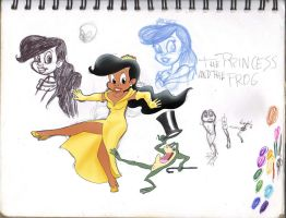 The Princess and the Frog by tolan68