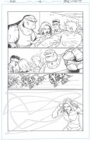 Fantastic Four sub page 4 by artistjerrybennett
