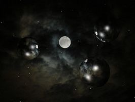 Space Skyscape Background 2 by FantasyStock