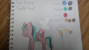 DoodleCloud OC MLP Reference Sheet by 1ninjaminecrafter13
