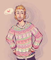 sweater anders by Ka-Bent