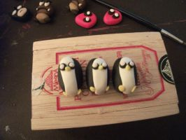 Gunter the penguin badges adventure time by chaobreeder16