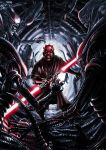 Darth Maul vs Aliens by Robert-Shane