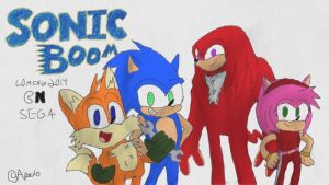 Sonic Boom (TV show) designs by aPAULo17