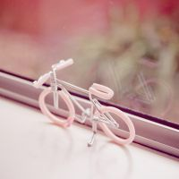 Pink Bicycle by kulesh