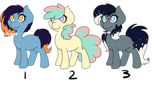 Pony Adoptables [PayPal Only] by Spookyshouseofhorror
