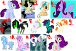 Pony Adopts(OPEN) by haruhi116