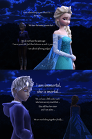 MMD Jack Frost X Elsa Comic - No more... by JackFrostOverland