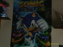 Sonic Colours Poster by BlazetheCat1445