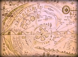 masterplan for the cosmic city, santocity 0 o . by santosam81
