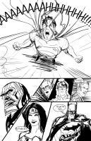 Superman Unleashed Page 3 by randomality85