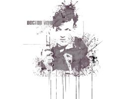 Dr Who T-shirt Design by z0rb