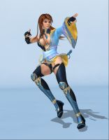 Kasumi pose - Download by TheForgottenSaint47