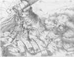 Thor vs Frost Giant commission by cric