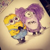 The Minions by KimShadow