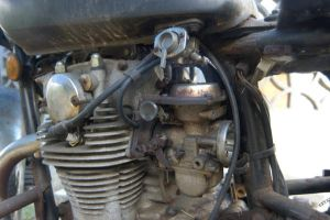 Yamaha XS650 engine by ManicMechE