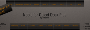 Noble for ObjectDock by barberioX
