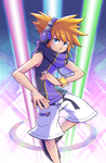 Neku's Final Attack [The World Ends With You] by marcotte