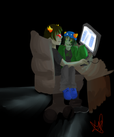 Sollux and Nepeta by PrinceOfBuckets