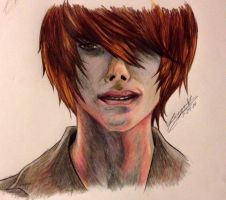 Light Yagami by KnightRose3